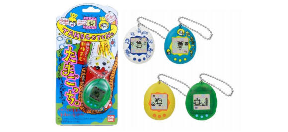 Tamagotchi To Be Re-Released by Bandai in November